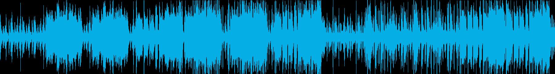 ほのぼのと可愛く優しいポップスの再生済みの波形