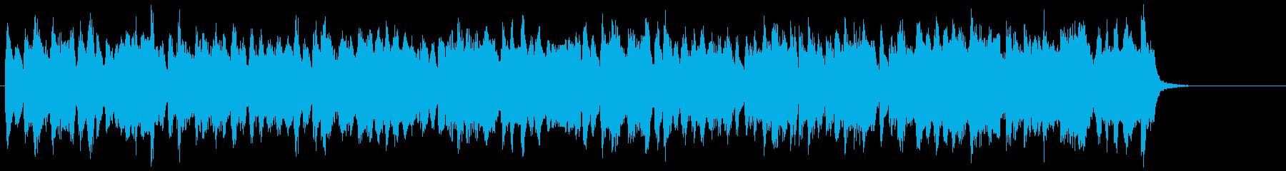 トロンボーンの旋律が明るく優しいBGMの再生済みの波形