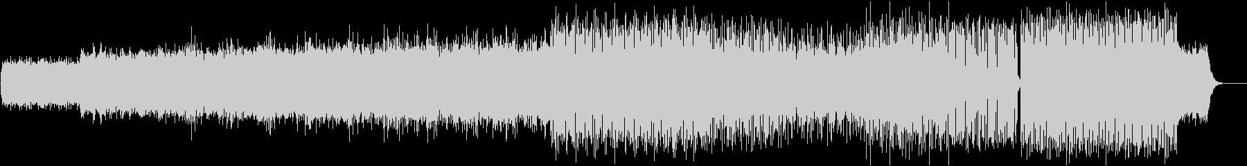 シンセと色々なリズムのエレクトロの未再生の波形