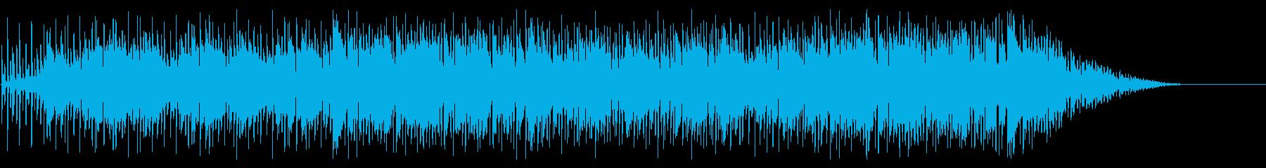エンディング風チル&ジャズなヒップホップの再生済みの波形