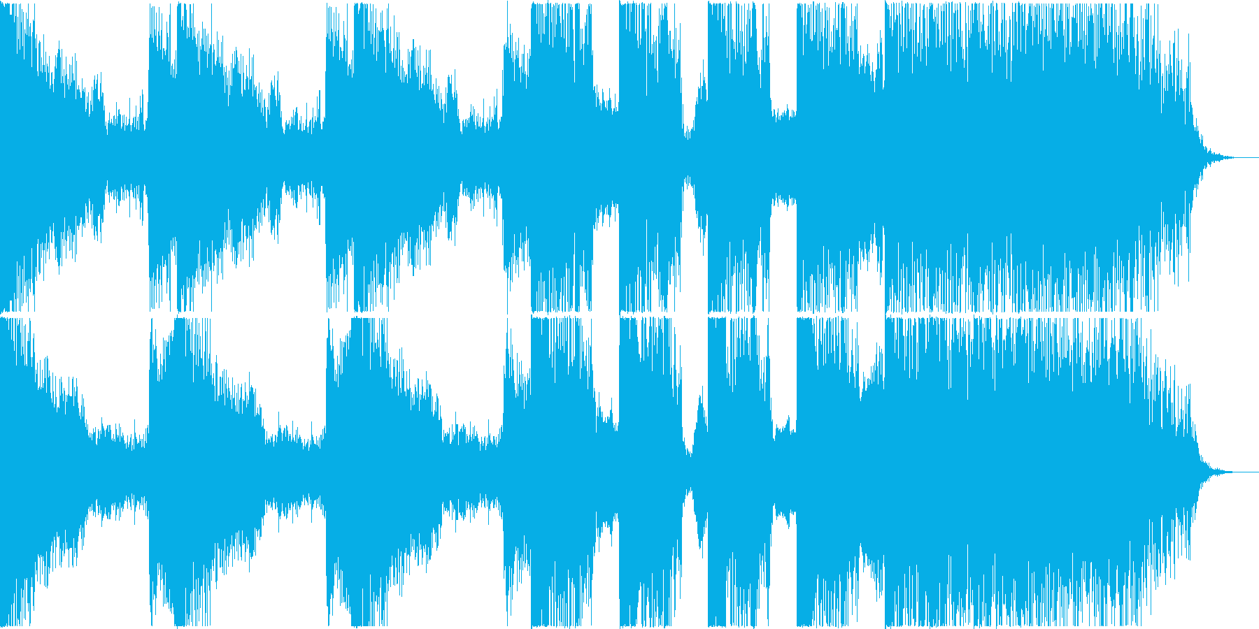 映画・トレーラー等に <シンセ+打楽器>の再生済みの波形