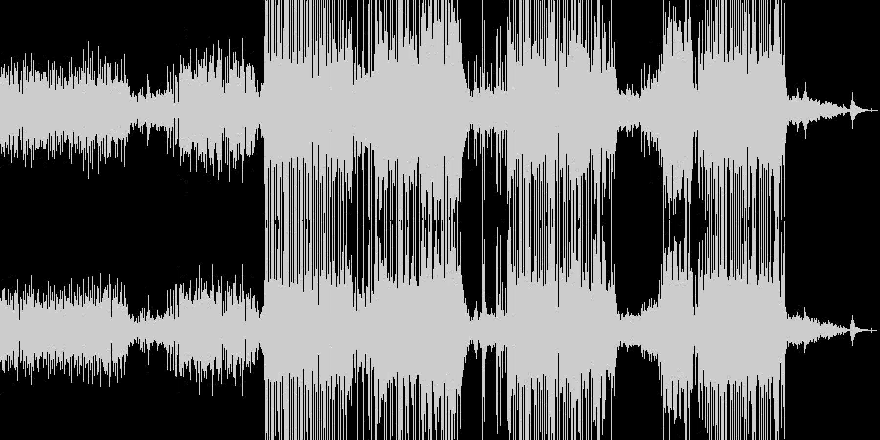 ギター・涼しいポップ 後半ドラム・長尺Aの未再生の波形
