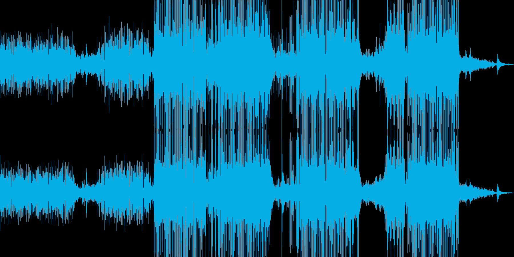 ギター・涼しいポップ 後半ドラム・長尺Aの再生済みの波形