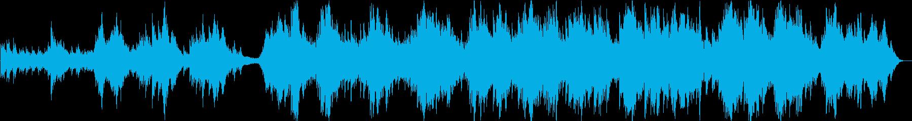 現代の交響曲 室内楽 アンビエント...の再生済みの波形