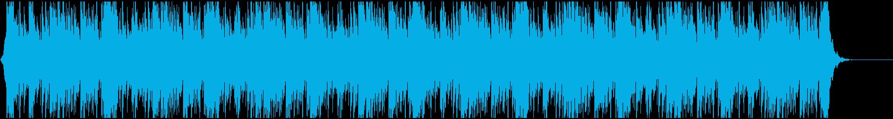 チュートリアル、神秘的、物語説明の再生済みの波形