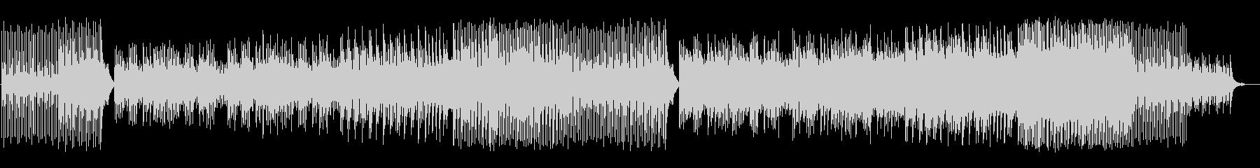 のんびりとした時間と空間を表現した和曲の未再生の波形