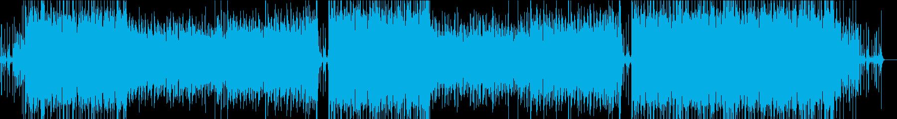 ラテンテイストのサンバ曲。の再生済みの波形