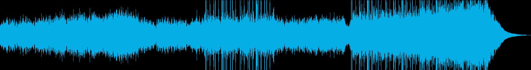 実験的 アンビエントミュージック ...の再生済みの波形