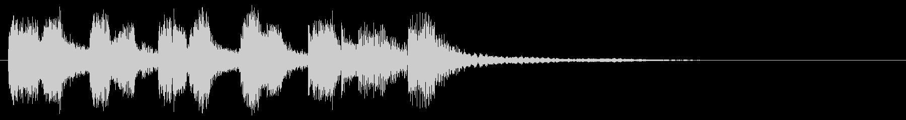 アイキャッチ ・トランペット・場面転換2の未再生の波形