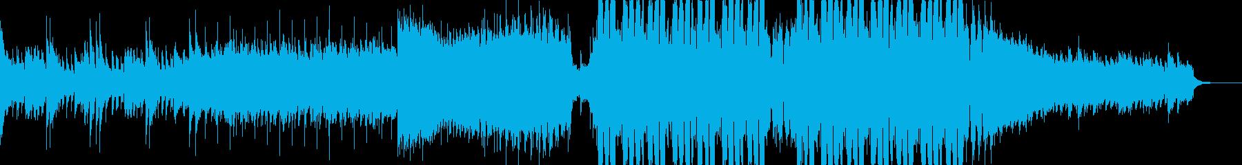 ベルとシンセベースが主役の海外風EDMの再生済みの波形