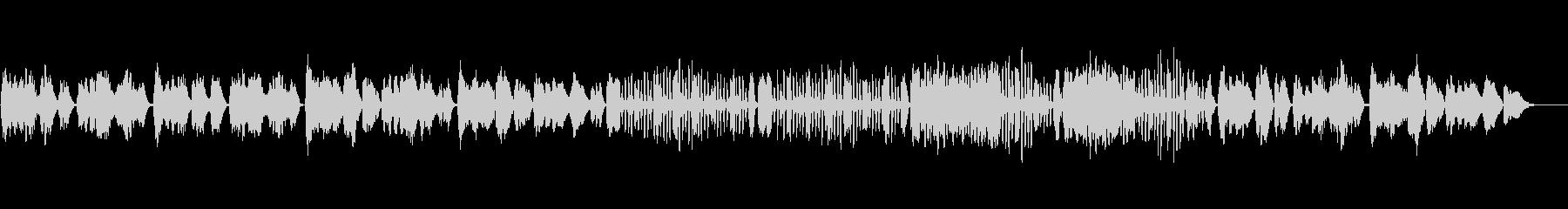 ベートーベン/メヌエット/バイオリンソロの未再生の波形