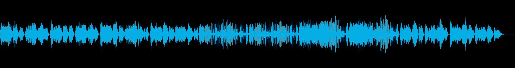 ベートーベン/メヌエット/バイオリンソロの再生済みの波形