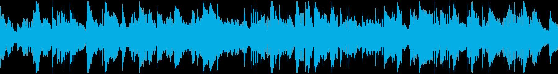 優しいエレピとサックスバラード※ループ版の再生済みの波形