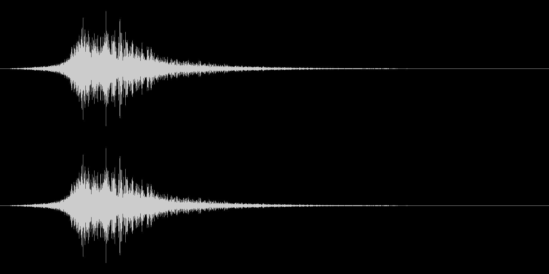 シューッという音EC02_55_3の未再生の波形