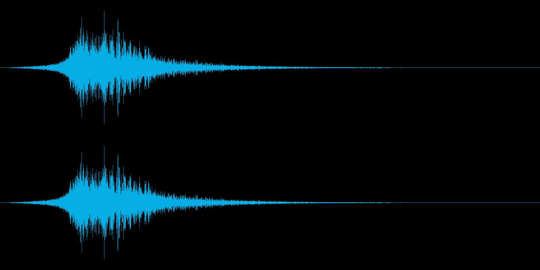 シューッという音EC02_55_3の再生済みの波形