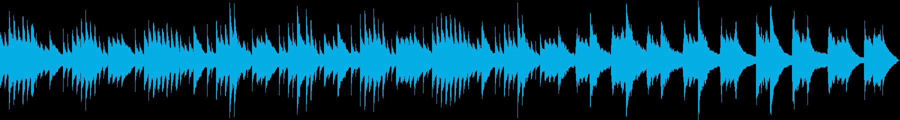 切なく穏やかなピアノソロ(ループ可)の再生済みの波形