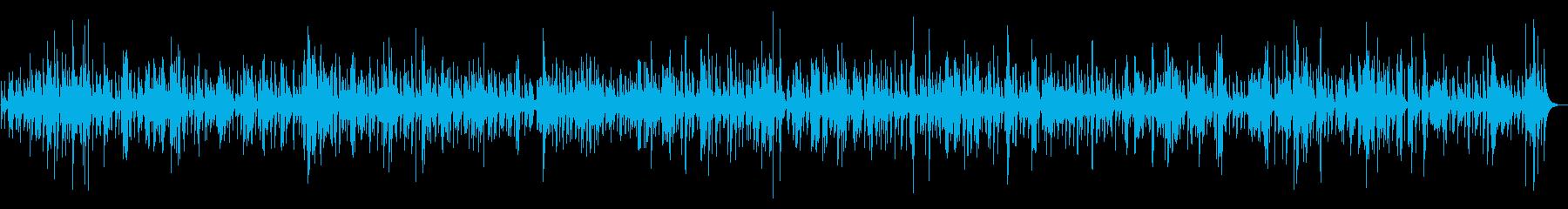 ゆったり癒しの夜ジャズリラックスBGMの再生済みの波形