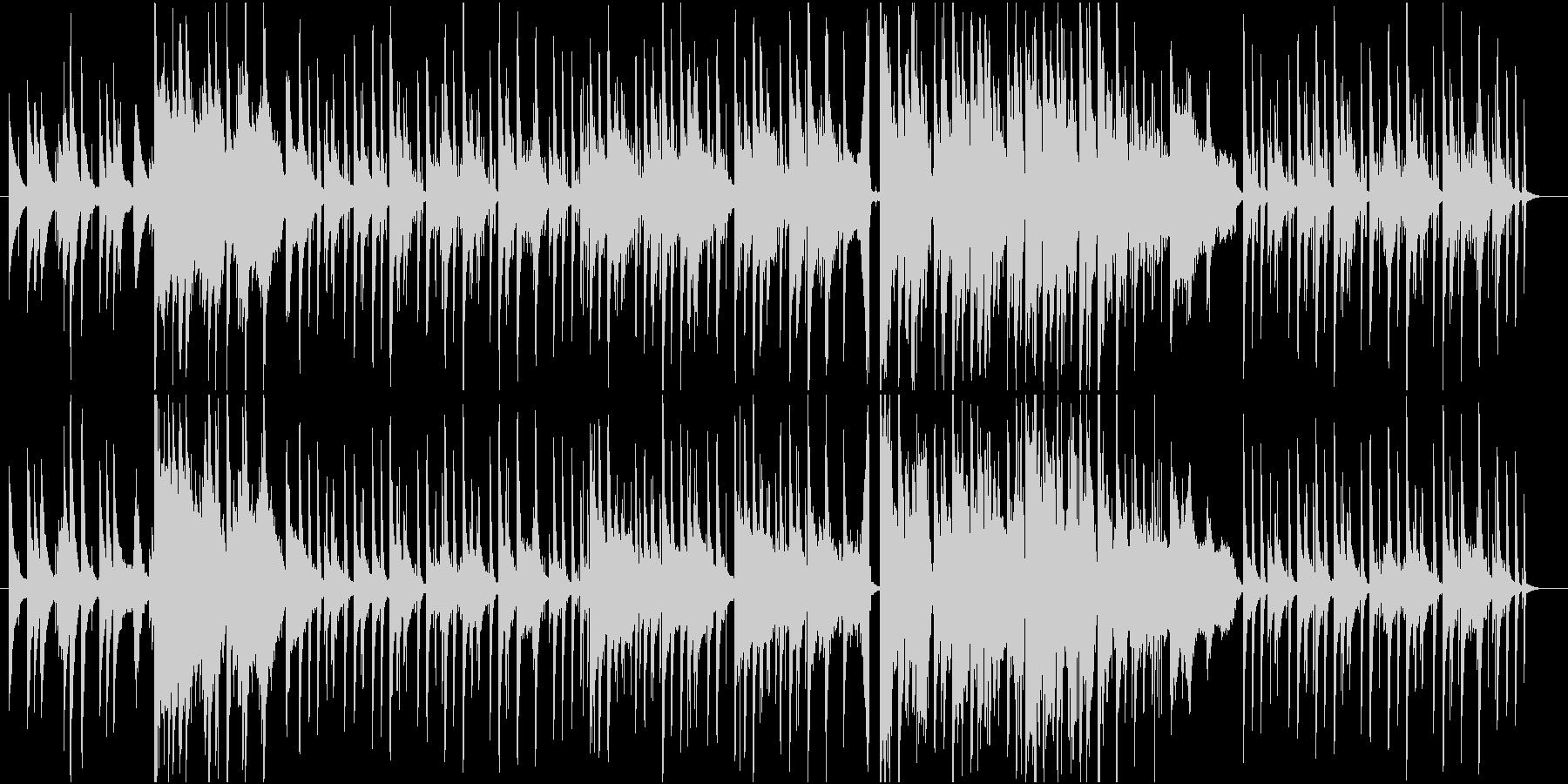 切なく美しいピアノバラードポップBGMの未再生の波形