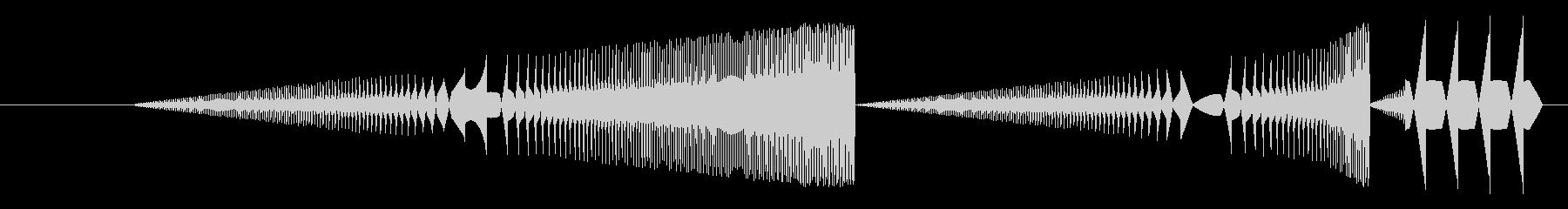 FX アーケードプレイ01の未再生の波形