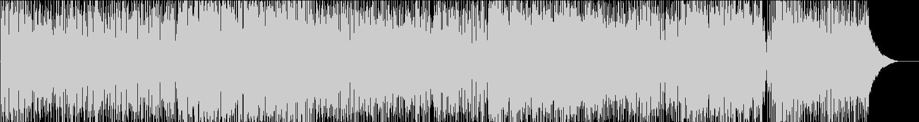 ドレスコードの未再生の波形