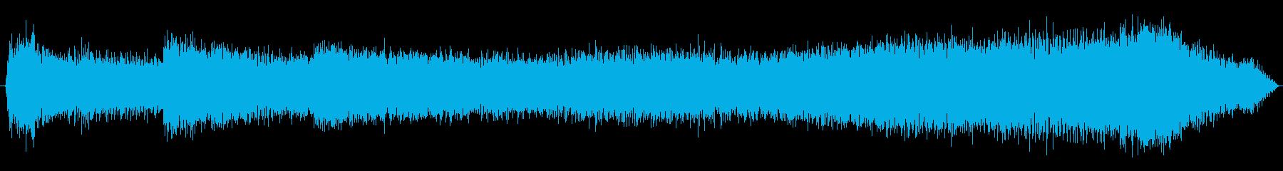 トラック ウラル4320減速加速01の再生済みの波形
