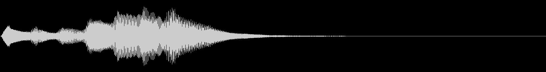 キラキラ駆け上がる音_場面転換の定番の未再生の波形