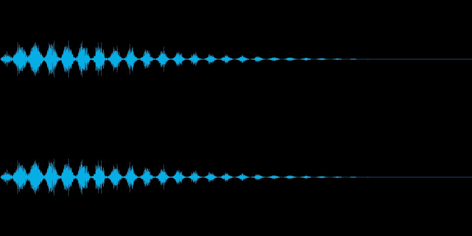 逃走/ダッシュ/風/場面転換/コミカルの再生済みの波形