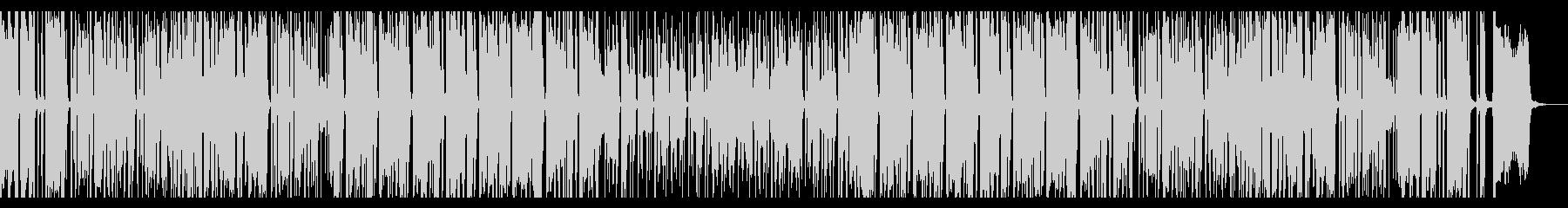 トロピカルムードなブラス活躍のレゲエ曲の未再生の波形