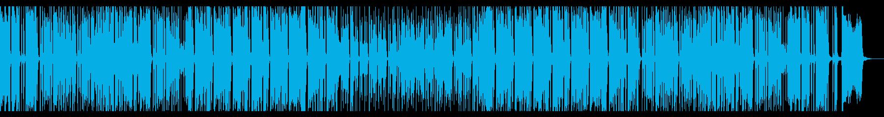 トロピカルムードなブラス活躍のレゲエ曲の再生済みの波形