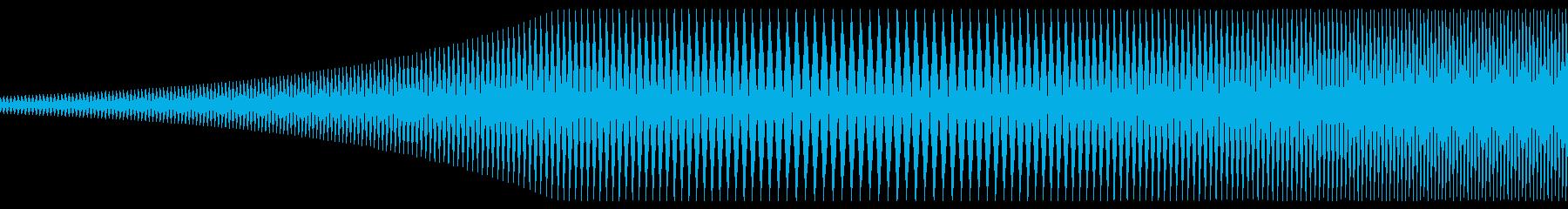 ミィーウウィの再生済みの波形