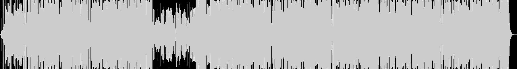 ギターとトランペットのファンクロックの未再生の波形