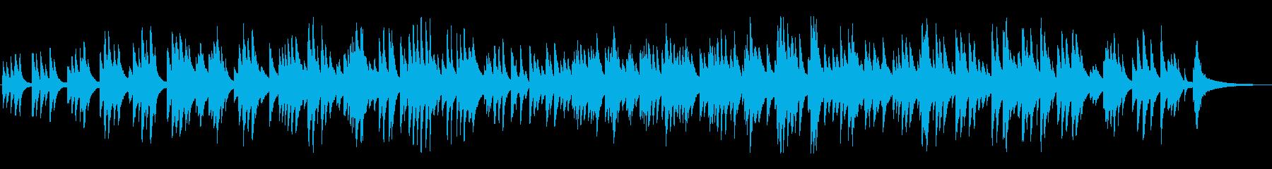 哀愁のあるジャズ風ラウンジピアノソロの再生済みの波形