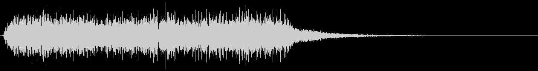 クールでミステリアスなゲームオーバー音の未再生の波形