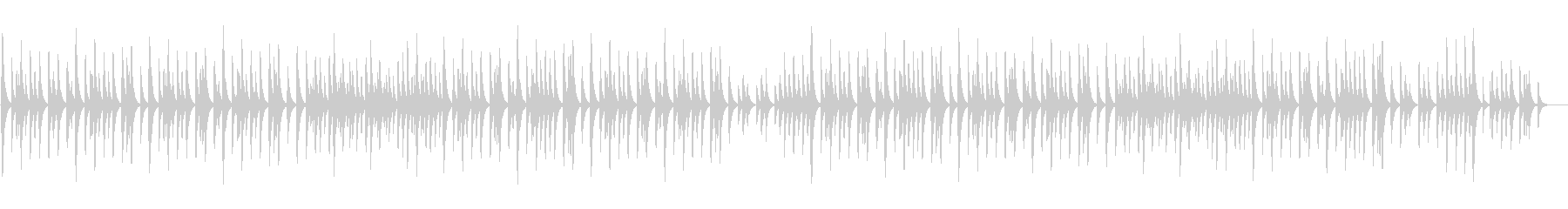 「結婚行進曲」オルゴール ロングver.の未再生の波形