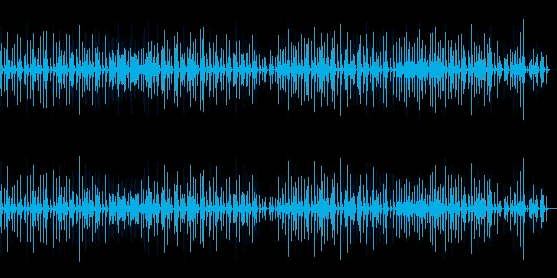 「結婚行進曲」オルゴール ロングver.の再生済みの波形