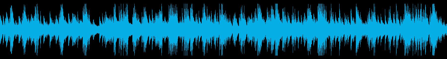 ギター&ピアノ ゆったりラウンジBGMの再生済みの波形