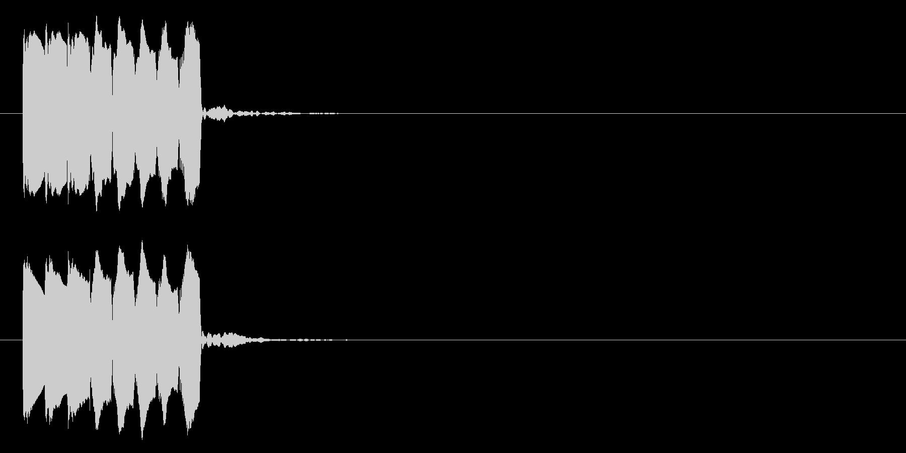 場面転換(下降)01の未再生の波形