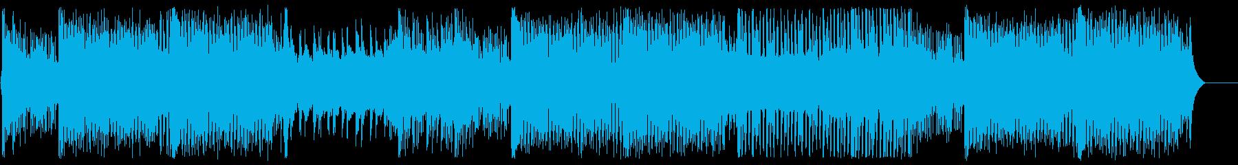 和風EDM・アップテンポな三味線の再生済みの波形