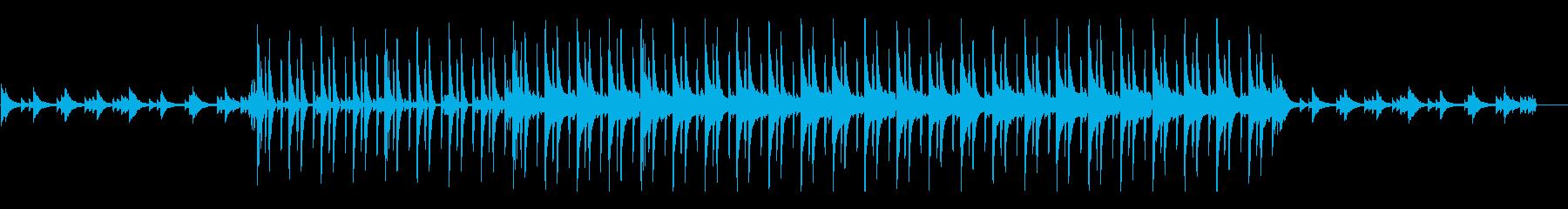赤ちゃんの誕生の再生済みの波形
