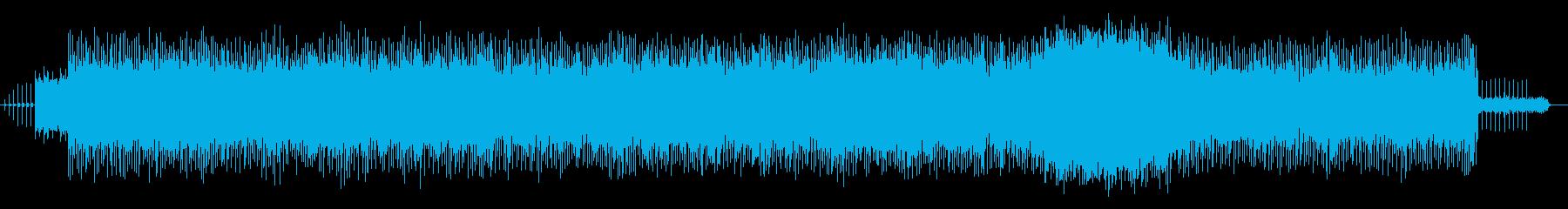 淡々と進んでいく優しいバラードポップスの再生済みの波形