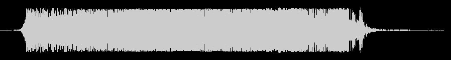 ギターメタルパワーコードTの未再生の波形