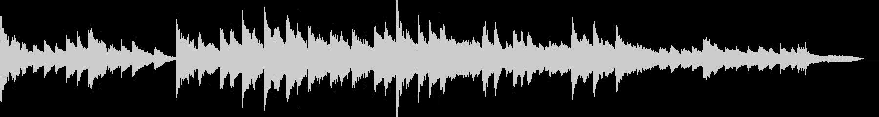 【感動的】30秒ピアノソロ【ループ】の未再生の波形