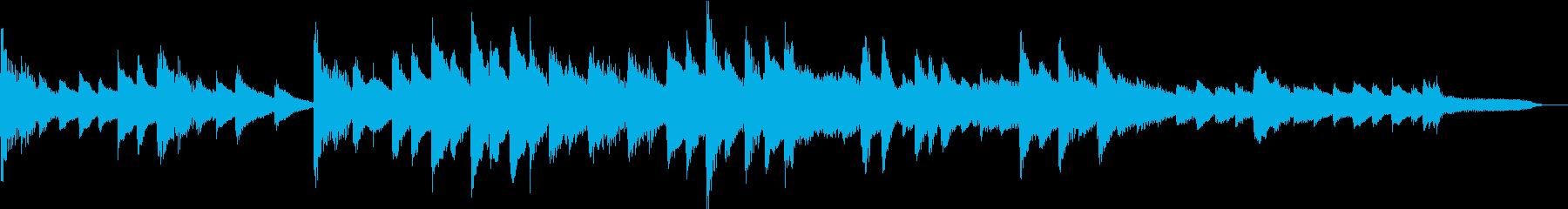 【感動的】30秒ピアノソロ【ループ】の再生済みの波形