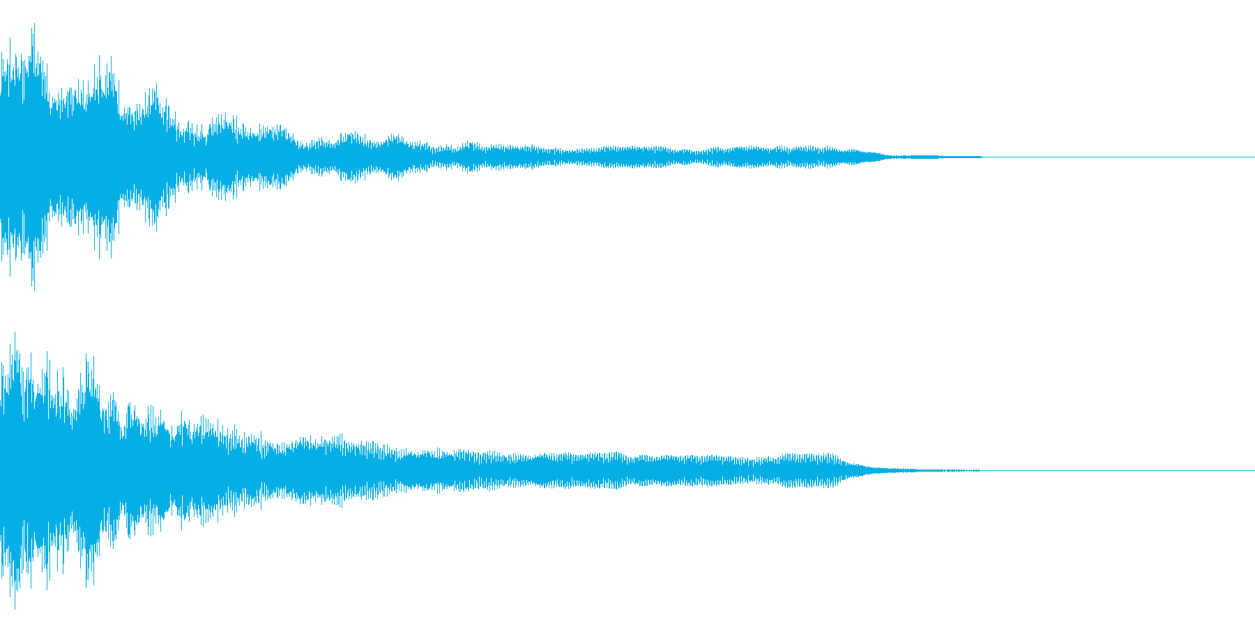 鐘_ゴーンの再生済みの波形