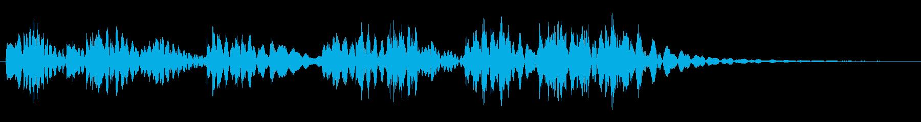 ティロリロリッロリリッロリ(場面転換)の再生済みの波形