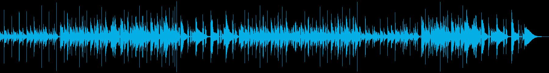 ピアノがメインの落ち着いたHiphopの再生済みの波形