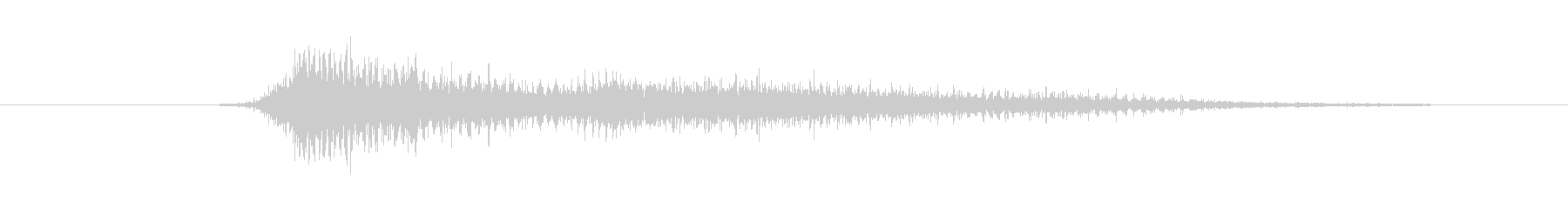 鳴き声 リトルガールスノート05の未再生の波形