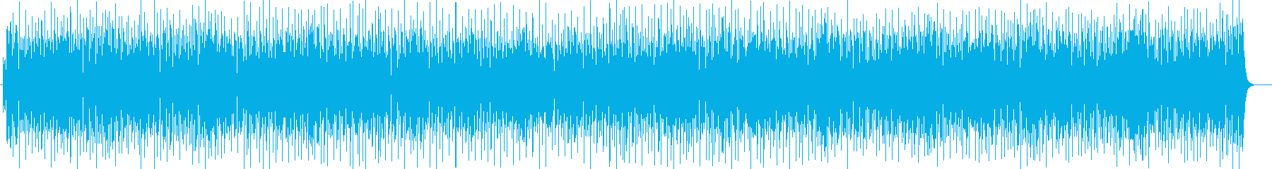 リズミカルで親しみやすいテクノポップの再生済みの波形