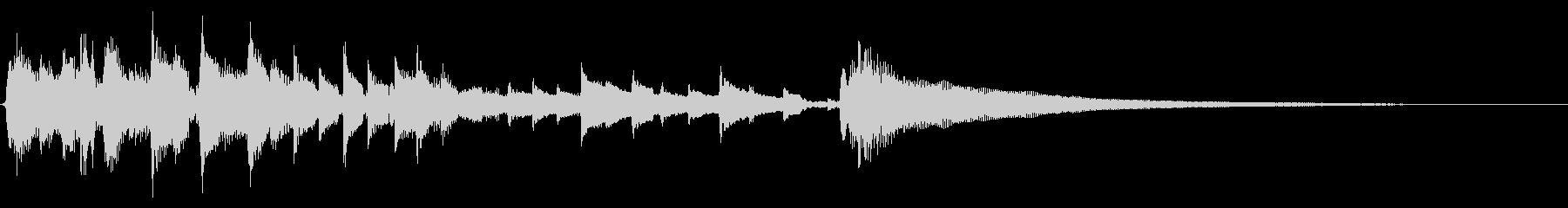 ★アコギソロ(生音)/爽やかな朝日15秒の未再生の波形