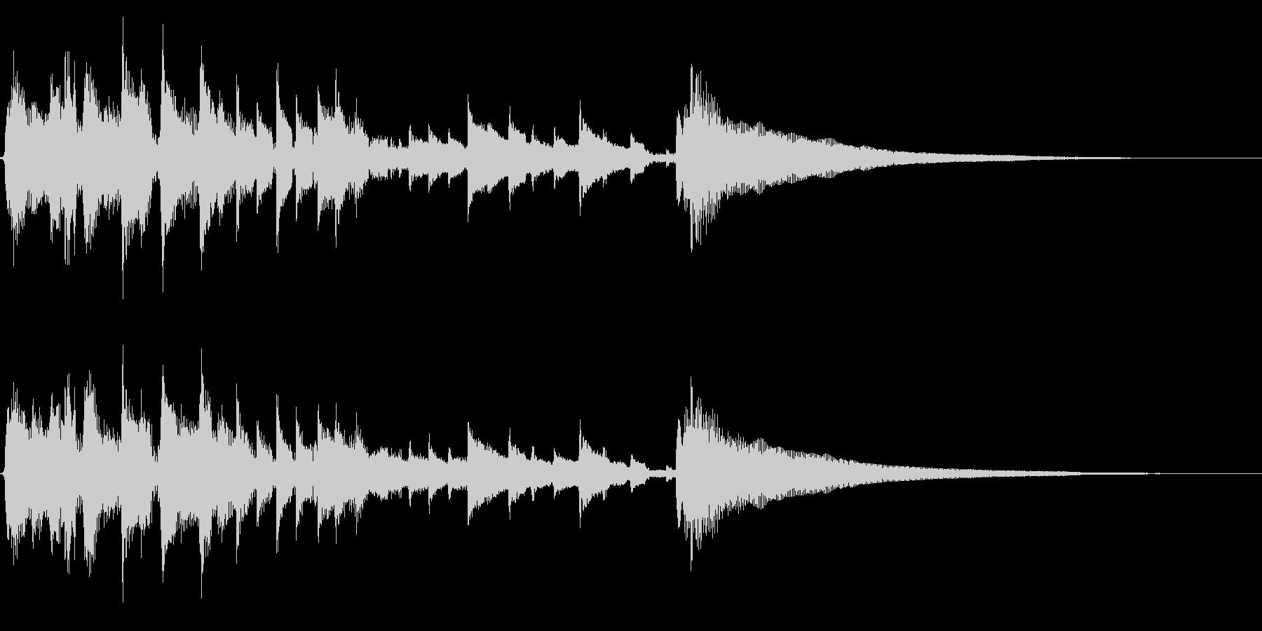 アコギ36/明るい、15秒、生音、ソロの未再生の波形
